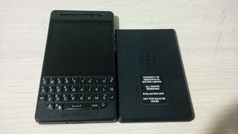 BlackBerry Developer Alpha C Device