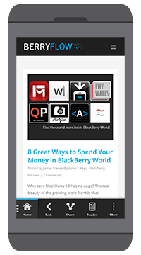 BerryFlow Applications for BlackBerry 10